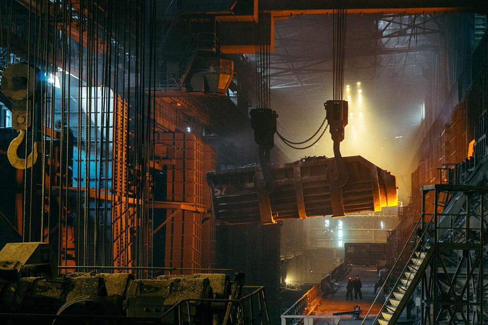 Steel Smelting Norsteel Buildings