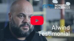 Norsteel Buildings Alwind Industries Testimonial