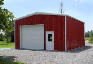 Prefab Steel Building Residential Garage kit