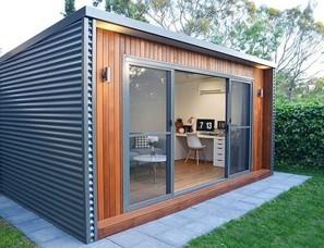 DIY sheds home office