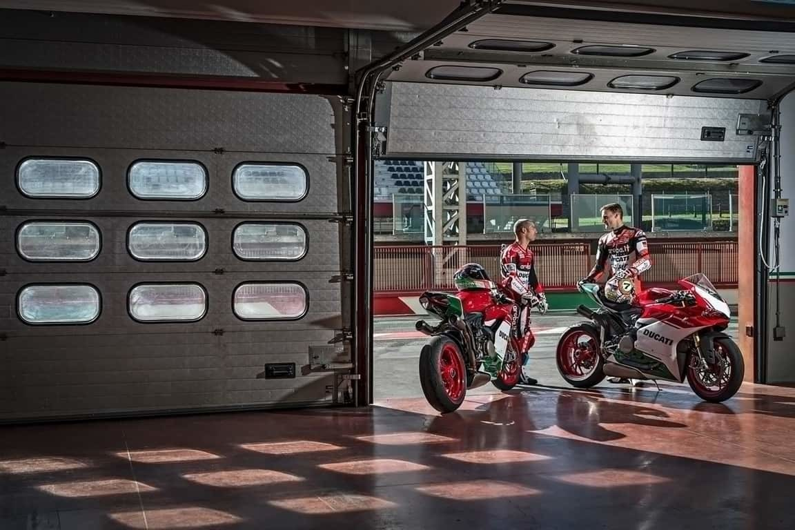 A pre engineered steel workshop and garage for motorcycles