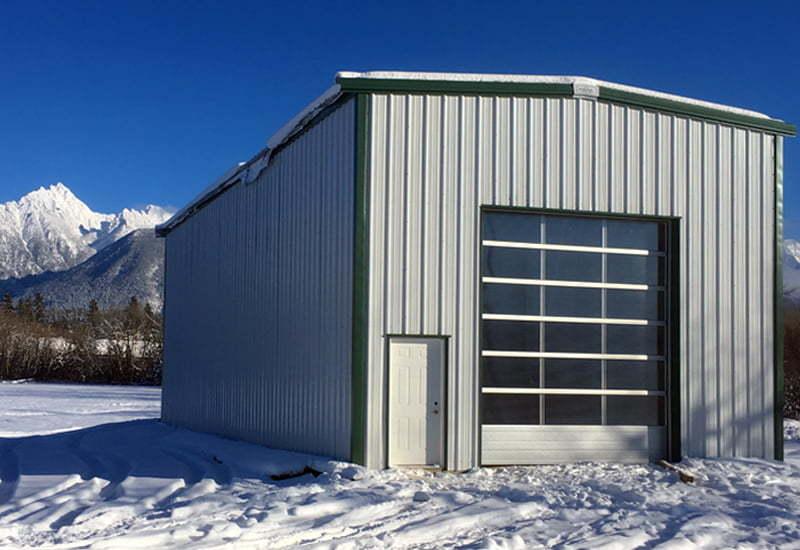 Garage pre-engineered steel buildings