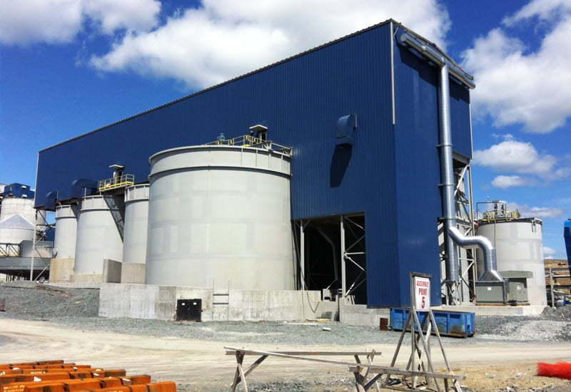 Industrial pre-engineered steel buildings