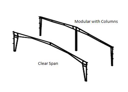Rigid Frame Metal Building Diagram
