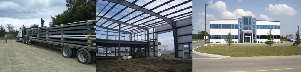 quick erection steel building