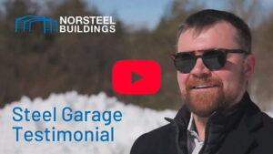 Norsteel Buildings Steel Garage Testimonial