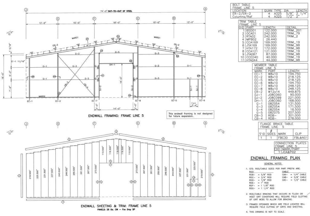 Structural Drawing permit office