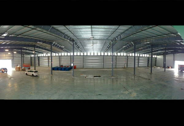 Advantages of Pre-engineered Steel Buildings - Low Maintenance Warehouse