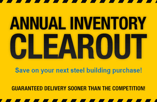 Annual Inventory Clearout Banner