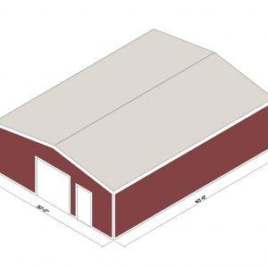 30x40x10 Prefab Steel Building Kit